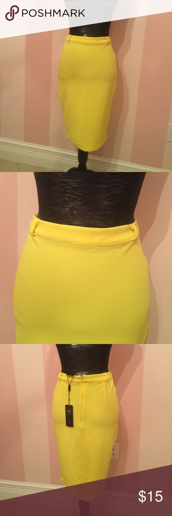Kardashians Kollection Pencil Skirt NWT perfect for a dinner night out with some pumps! (Has belt loops to accessorize with your own belt)  Bundle 3 for 10% off! Kardashian Kollection Skirts Pencil