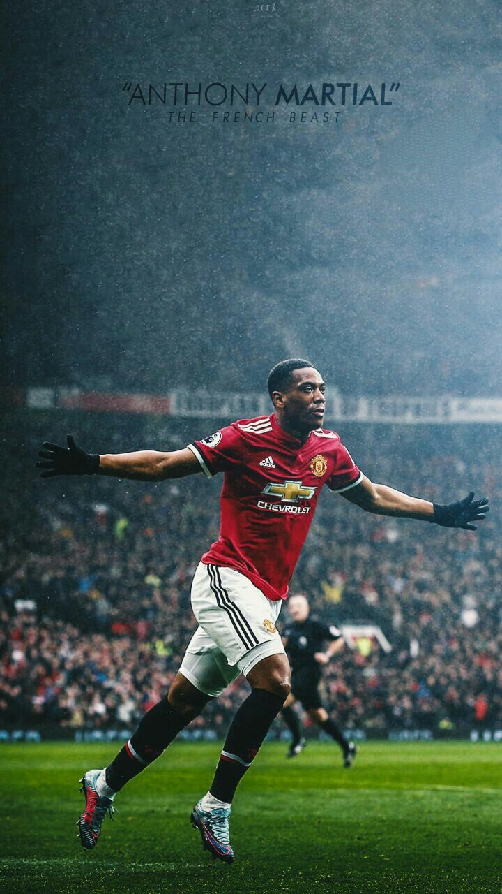 Wallpaper Man Utd Hd Anthony Martial Manchester United We Are United