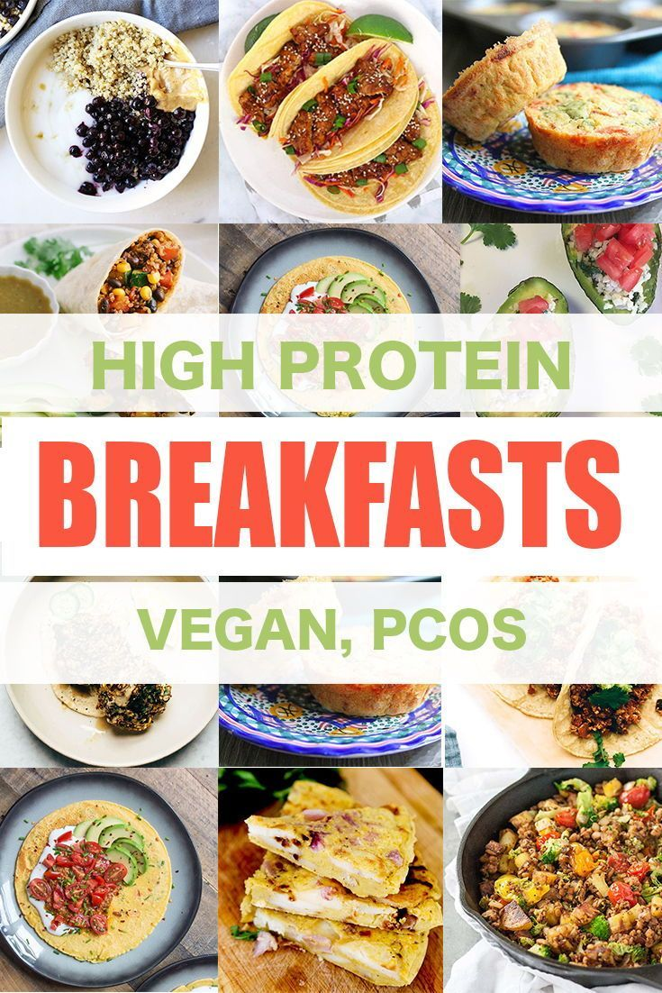 High Protein Vegan Breakfast Ideas Pcos Friendly Breakfast