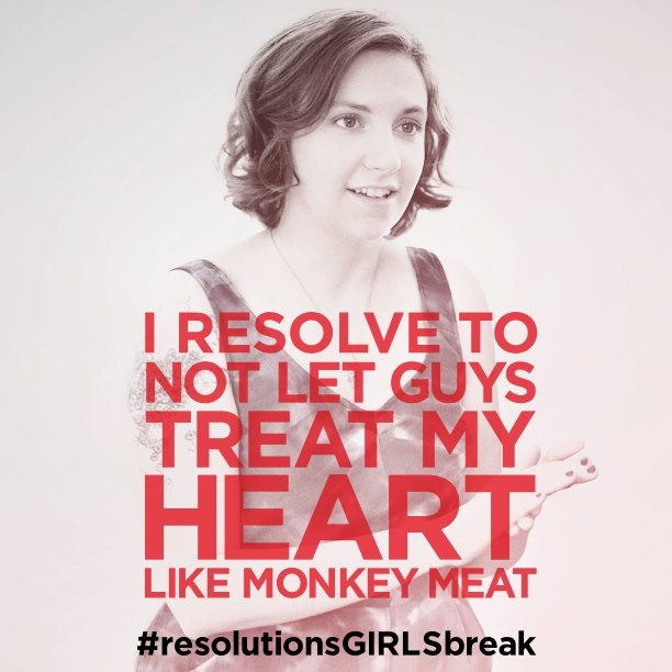 Best  Girls hbo Hannah gets me resolutionsGIRLSbreak