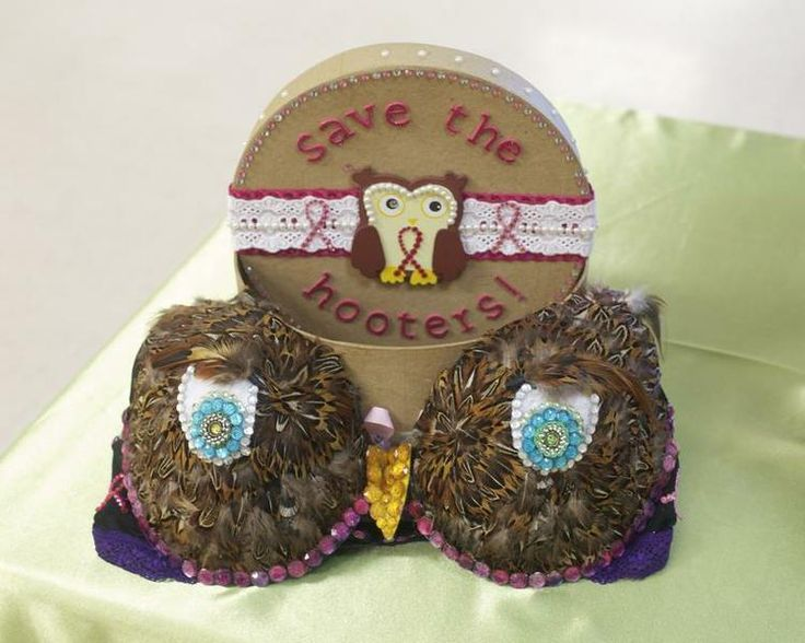 Decorated Bra Themes | The themes ranged from tropical to humorous.