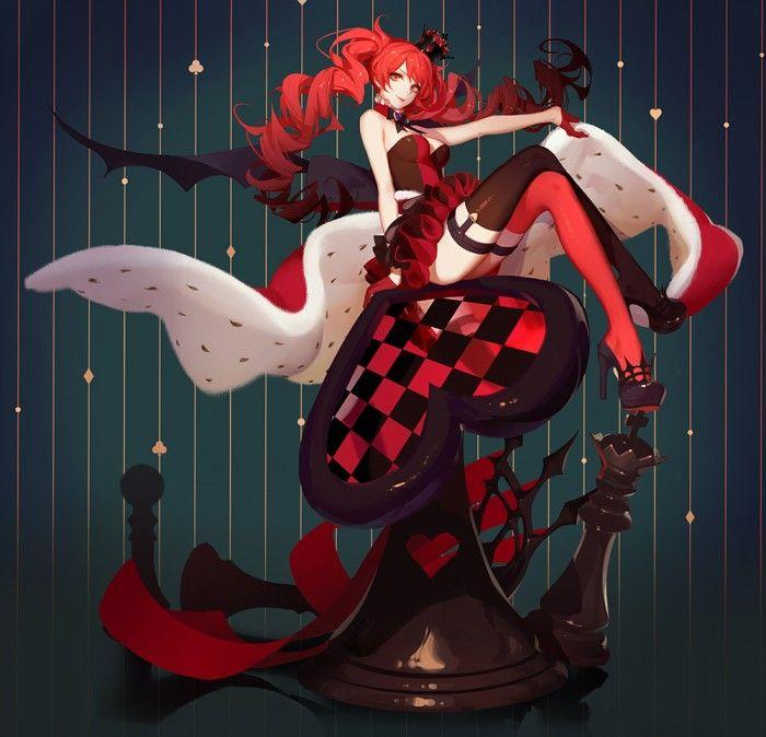 La Reine De Coeur d'Alice Aux Pays Des Merveilles par ASK