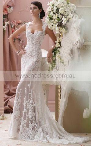 Sheath Square Empire Sleeveless Floor-length Wedding Dresses wbs0231--Hodress