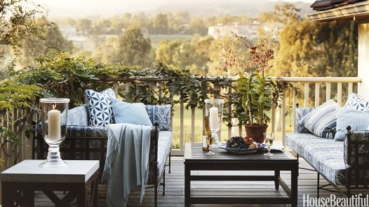 The outdoors aren't just for warmer months. Use these ideas for inspiration to transition your porch