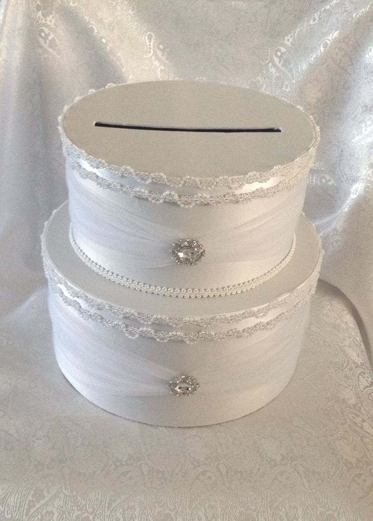 Wedding card box by Thatssolovely on Etsy