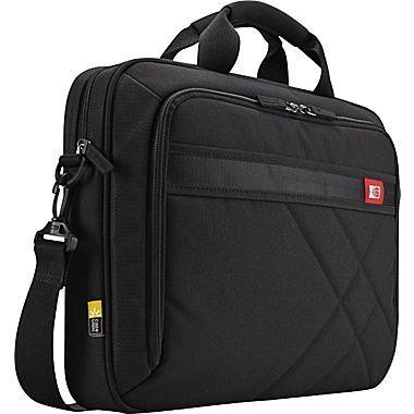 "Case Logic 15.6"" Laptop and Tablet Briefcase, Black"