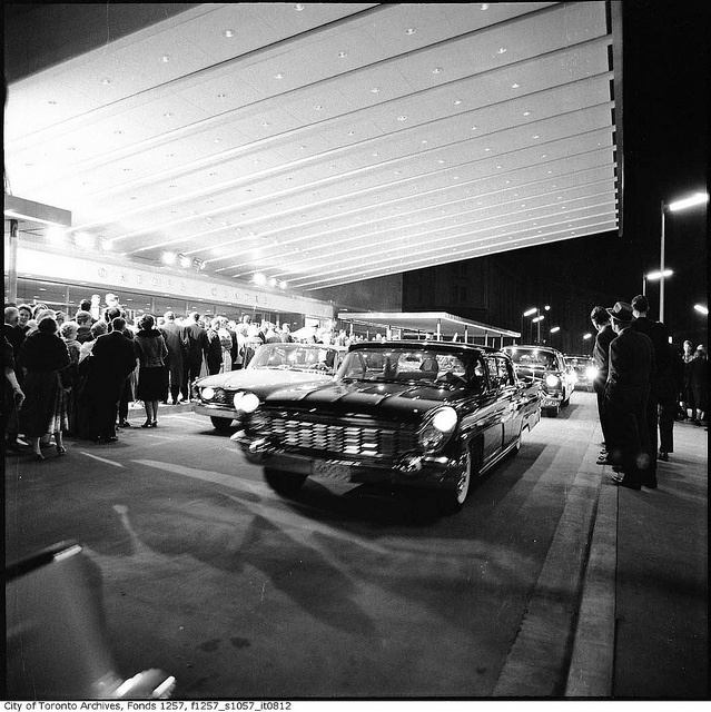 The opening of the O'Keefe Centre, Toronto, 1960