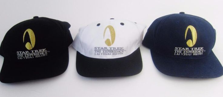 Star Trek The Experience Las Vegas Hilton Baseball Cap Hat NWT Maiden Voyage '98 #StarTrek #BaseballCap