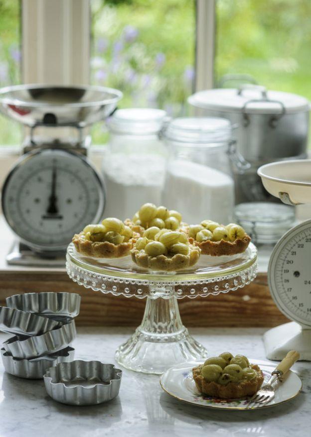 Delicious gooseberry tart recipe