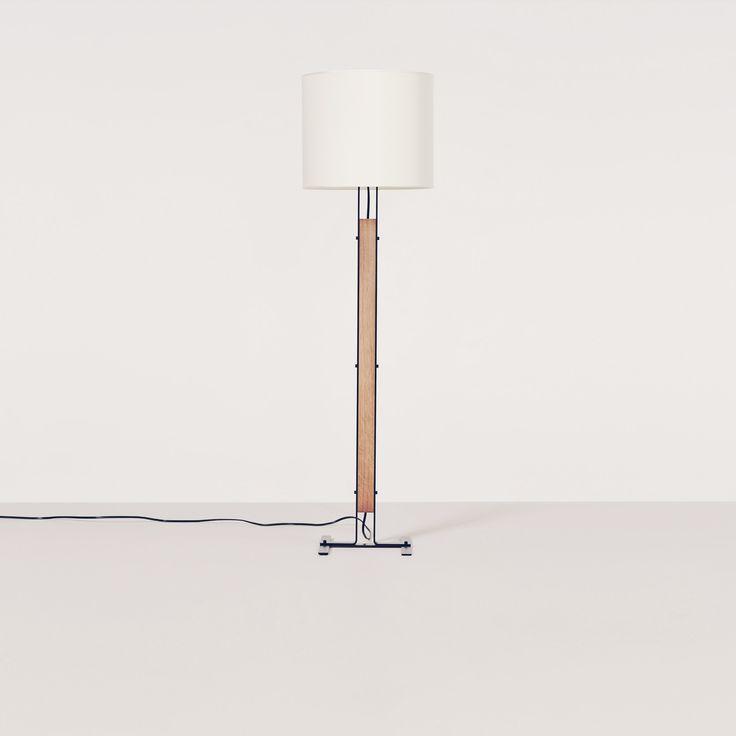 ELS floor lamp (white) by Christophe Delcourt