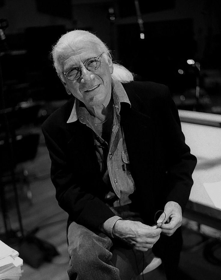 Jerry Goldsmith (1929 –2004) was an American composer and conductor most known for his work in film and television scoring. He composed scores for such noteworthy films as Planet of the Apes, Patton, Chinatown, The Omen, The Boys from Brazil, Alien, Poltergeist, Gremlins, Total Recall, Basic Instinct, Air Force One, L.A. Confidential, The Mummy, three Rambo films, and five Star Trek films. He was nominated for six Grammy Awards, nine Golden Globe Awards, four British Academy Film Awards.