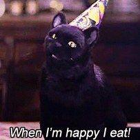 De hecho, es por él que sabes cómo relacionarte con la comida. | 19 Señales de que Sabrina, la bruja adolescente cambió tu vida