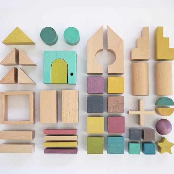 【送料無料】gg* tsumiki おうち型のかわいい積み木セット - FAVOR (出産祝い・インテリア雑貨の通販サイト)