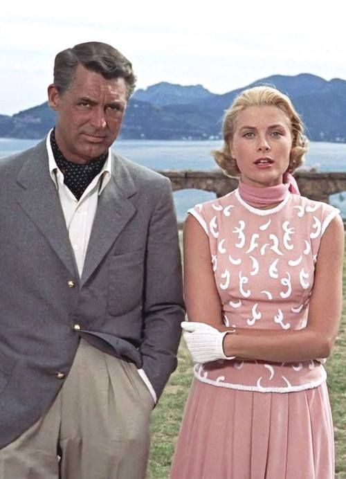 Grace & Cary To Catch a Thief 1955