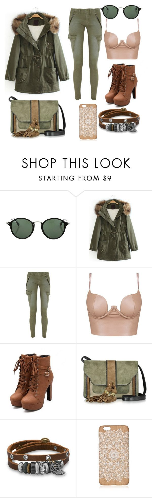 """""""camouflage"""" by kimberly-jackson-osorio on Polyvore featuring Ray-Ban, rag & bone/JEAN, L'Autre Chose, BillyTheTree and camostyle"""