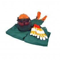 MAKITA Chainsaw Safety Kit - Bib & Brace - Helmet - Gloves - Size XL