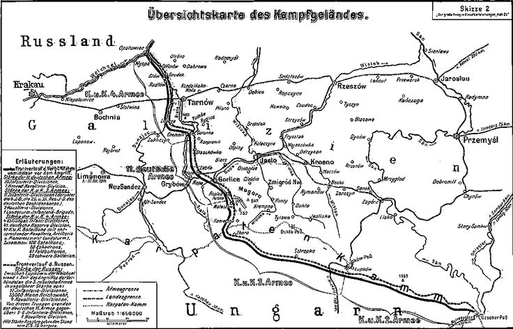 100 Years Ago: The Gorlice - Tarnów Offensive
