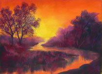 Mit den Soft Pastellkreiden male ich am liebsten stimmungsvolle Landschaften und Wolkenformationen. Es ist immer ein besonderes Vergnügen, diese weic…