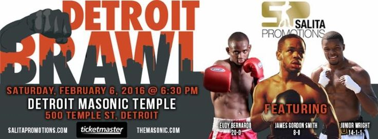 "Fighter/Promoter Salita Says Detroit Was the Obvious Choice for Upcoming Series of Professional Boxing Shows 'Detroit Brawl' Begins Saturday, February 6, at the Masonic Temple ""I …"