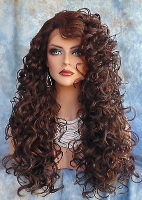 LACE-FRONT-LONG-CURLY-BROWN-WIG-FS4-27-GORGEOUS-SEXY-NEW-STYLE-USA-SELLER-225