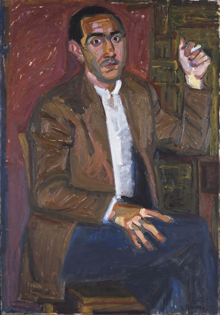 Portrait of Ioannis Soukaras, 1954  Panayiotis Tetsis