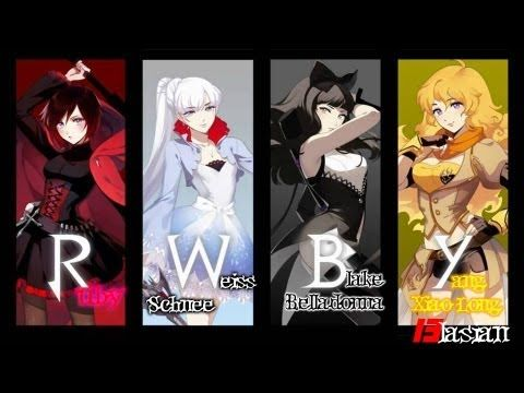 RWBY Full Trailer (All 4 Trailers into one) - YouTube--- awesome animated web series from Rooster Teeth.