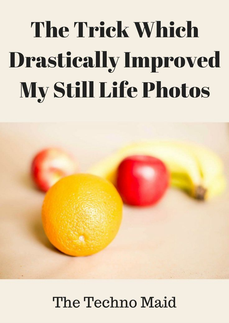 The Trick Which Drastically Improved my Still Life Photos | The Techno Maid