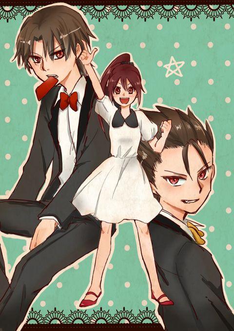 Erika With Ouzou and Kota