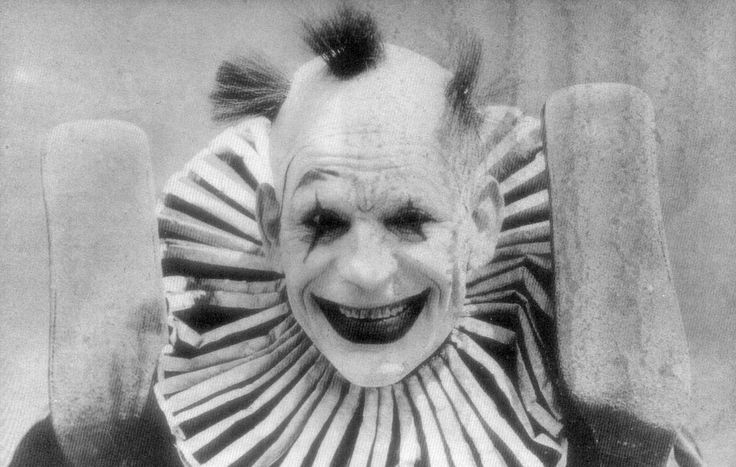"""The clown is a staple for Halloween costumes, horror films and children's nightmares. The figure of the evil clown has inspired countless characters: Pennywise from """"It,""""The Joker from """"Batman,""""Sideshow Bob, wrestler Doink the Clown, Shawn Crahan from Slipknot, and Twisty from """"American Horror Story,""""to name a few. In fact, when was the last time you even saw a """"happy clown"""" on TV?"""