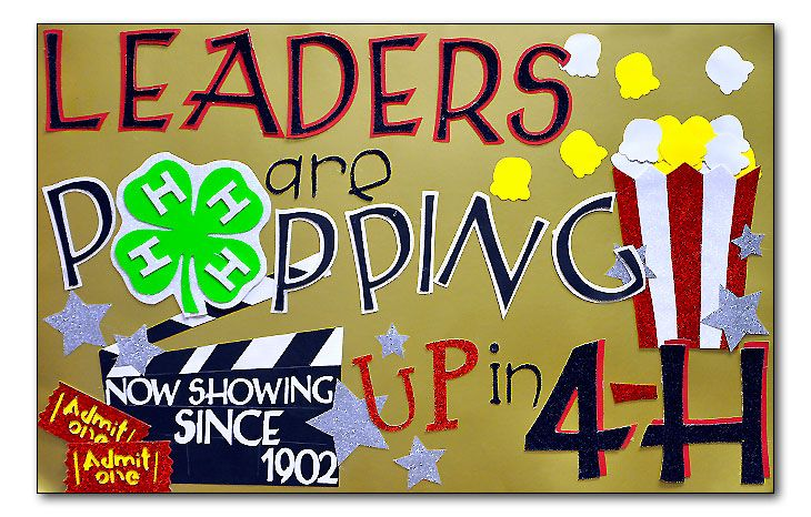 leaders are popping up in 4-H