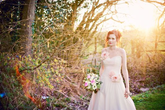 A Bohemian Inspired Winter Bridal Shoot