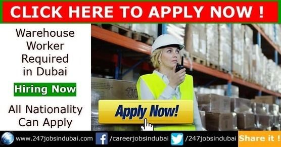 Latest Warehouse Jobs in Dubai (UAE) - February 2018 | Latest 247 Jobs in Dubai | Abu Dhabi | Sharjah | Ajman for Freshers Latest Warehouse jobs in Dubai freezone for freshers incharge helper and many more positions. Candidate who wants to apply for this vacancy must read job description and qualification required for a job. Click here for more information about warehouse job in UAE.