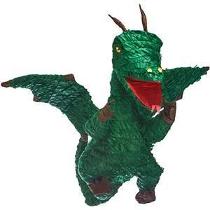 Piňata Dragon Vert - 56 cm de Hauteur