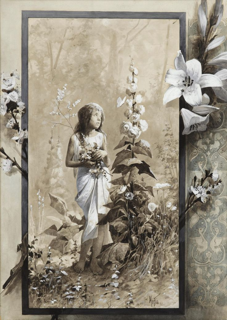 Alfons Mucha, Lilita, 1890