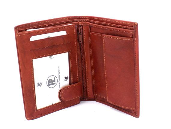 Check out this item in my Etsy shop https://www.etsy.com/listing/231598203/mens-red-tan-leather-tri-fold-wallets-id
