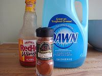Homemade Squirrel repellent  1 cup water, 1/4 cup hot sauce, 1/4 cup Dish soap, 2 tbls cayenne pepper
