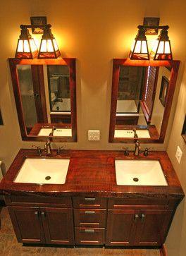 Best 25 craftsman bathroom ideas on pinterest bathrooms - Mission style bathroom accessories ...