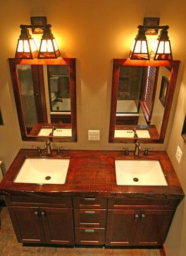 17 best images about arts crafts bathrooms on pinterest for Craftsman style bathroom design ideas