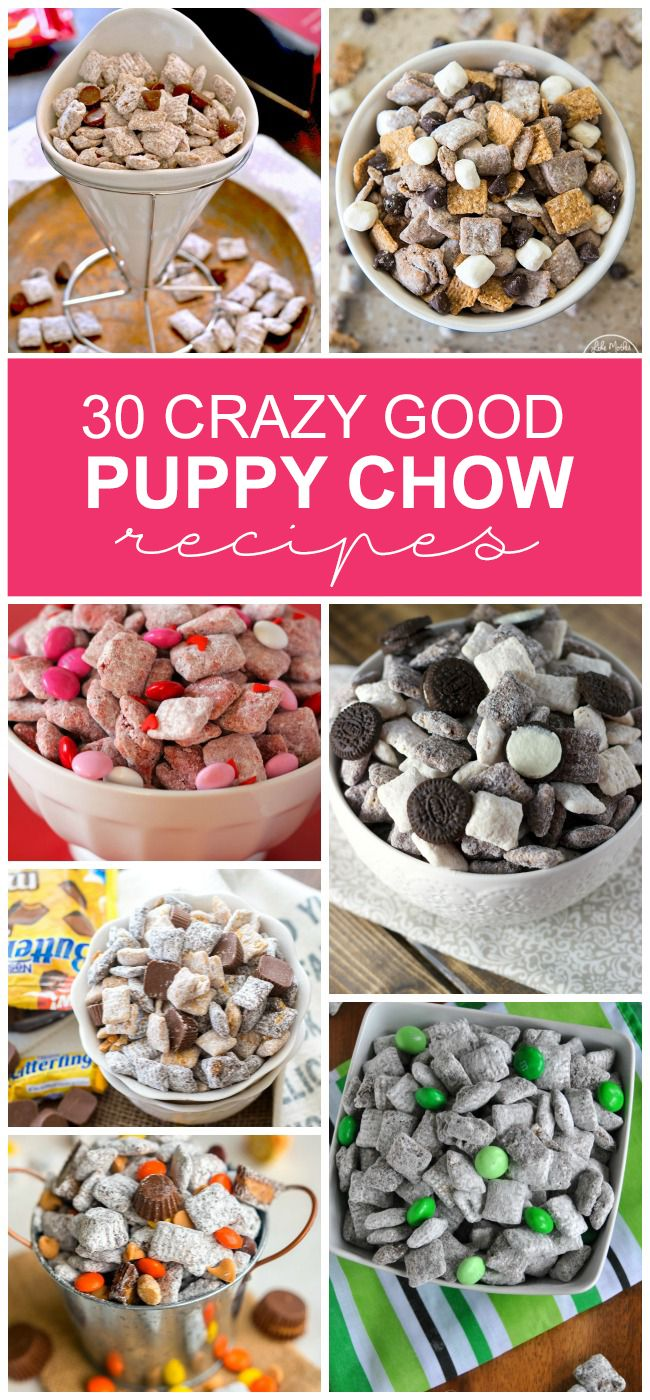 30 Crazy Good Puppy Chow Recipes - Kids Activities Blog