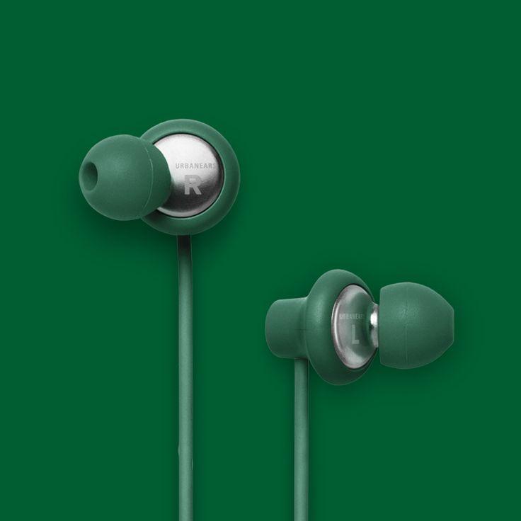 Urbanears Kransen Headphones in Clover