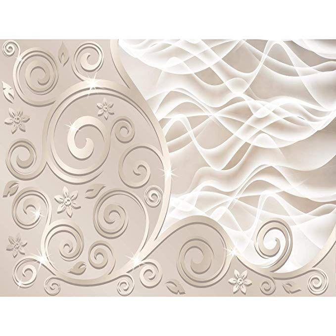 Fototapeten 3d Abstrakt Beige 352 X 250 Cm Vlies Wand Tapete Wohnzimmer Schlafzimmer Buro Flur Dekoration Wandbilde Tapete Wohnzimmer Tapeten Flur Dekoration
