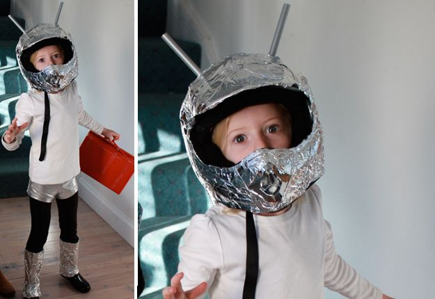 DIY spaceman costume, Kids fancy dress costume ideas | Mouths of Mums