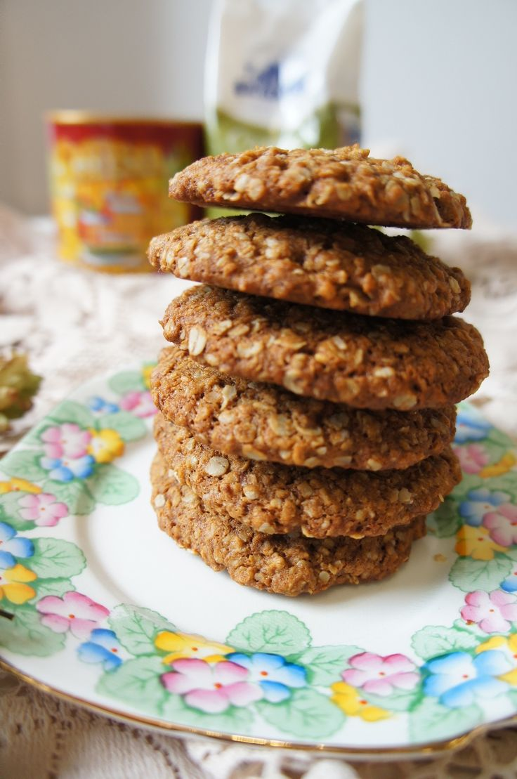 how to make anzac biscuits healthy