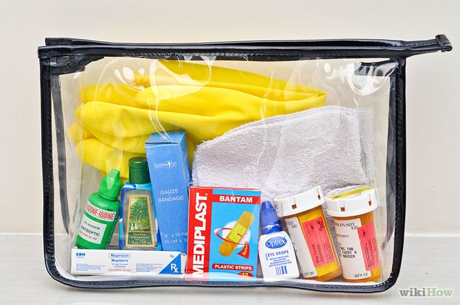 Do you have serious allergies or a condition where you require medication? Make sure you pack those too!