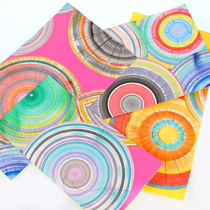 You won't believe how easy it is to make your own spin art machine!