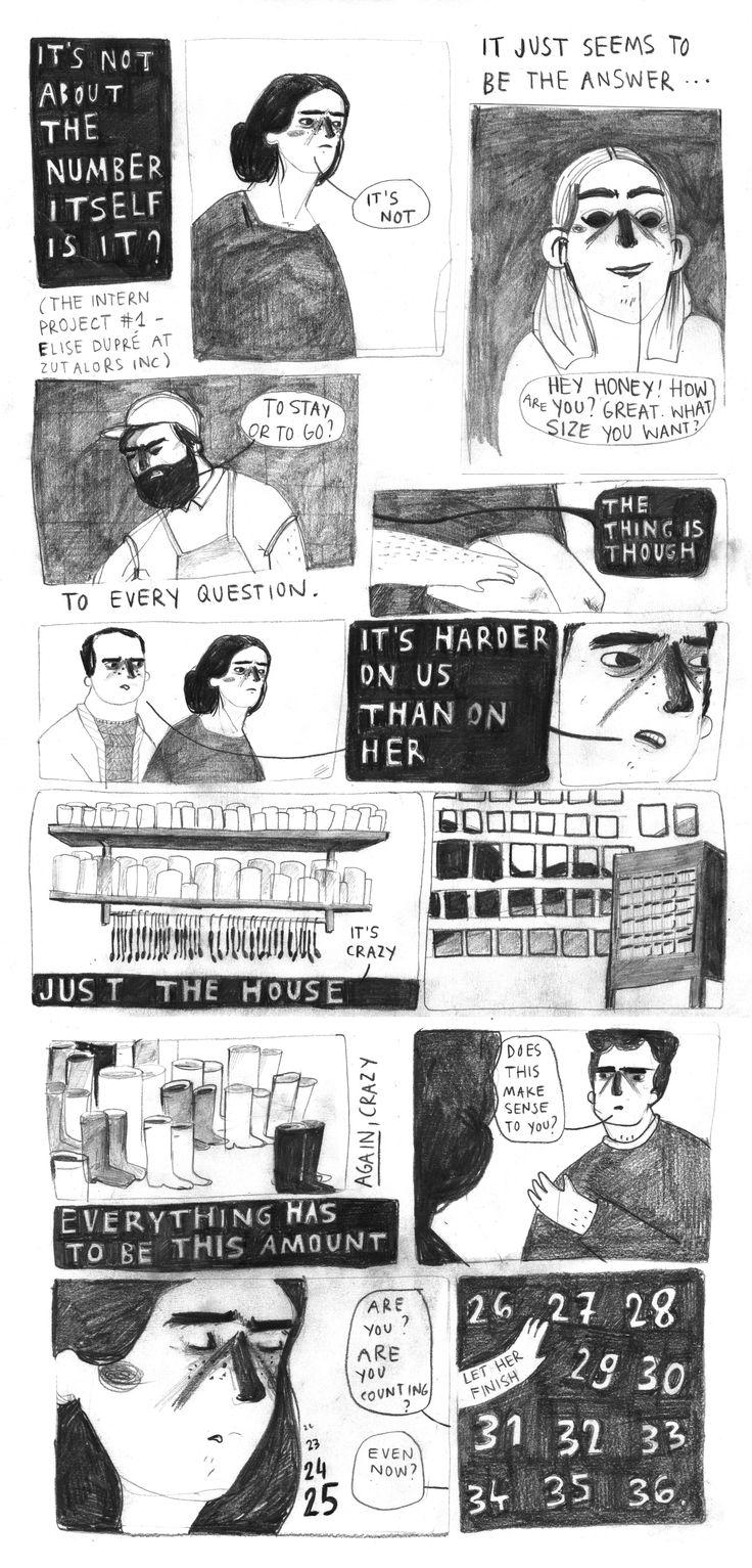 a NY intern project, Elise Dupré