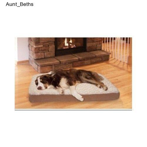 xxl dog bed plush luxury orthopedic pet lounge jumbo deluxe joint pain foam