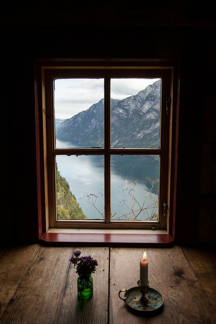 Incredible view from an attic Window, Stigen Gard, Norway photo via lisa
