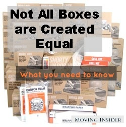 Not all boxes are created equal! Here's what you need to know about the structure of cardboard boxes for moving: http://movinginsider.com/2013/01/31/boxes-for-moving-why-not-all-boxes-are-created-equal/#