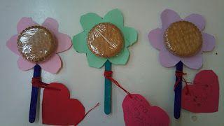 Ιδέες για τη γιορτή της μητέρας! Μπισκοτογλειφιτζουρια